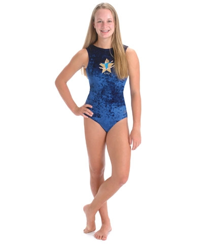 Personalized Royal Blue Straddle Jump Panne Leo