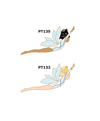 Pixie Gymnast Pin