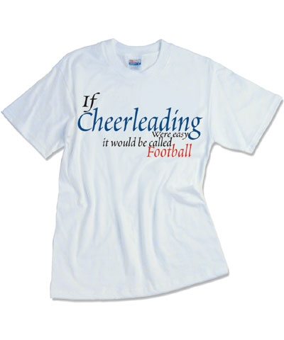 Cheer Football Tee FREE SHIPPING