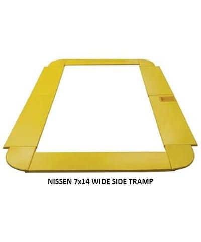 Custom Trampoline Frame Pads