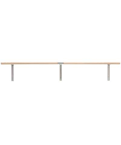 16Ft Single Adjustable Wall Mounted Ballet Barre