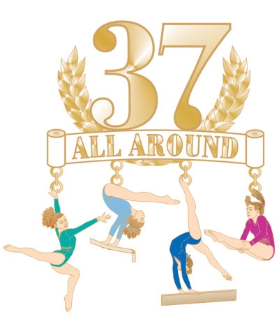 37 All Around Dangle Pin