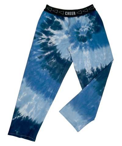 Cheer Tie Dye Blues Gym Jammies