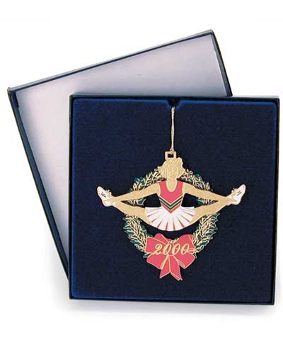 Cheer Toe-Touch Christmas Ornament