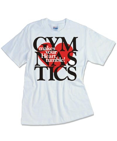 Gymnastics Makes Your Heart Tumble Tee FREE SHIPPING