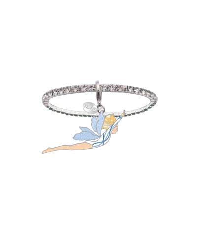 Pixie Gymnast Crystal Rhinestone Bracelet
