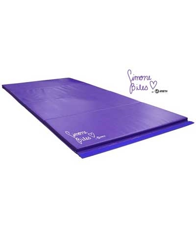 Simone Biles 4'x8' Purple Tumbling Mat