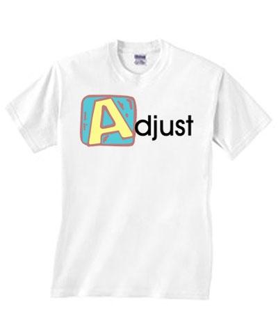 So Adjust Tee