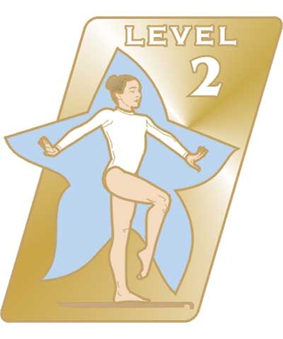 USAG Level 2 Pin
