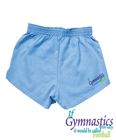 Bahama Blue Gym Football Shorts FREE SHIPPING