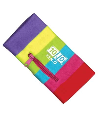 Multicolor Zippered Wristband FREE SHIPPING