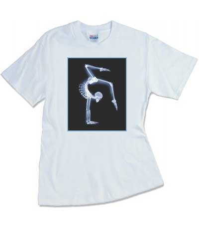 X-Ray Stag Handstand White Tee