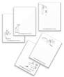 Boy's Notepad Set (5 Designs)