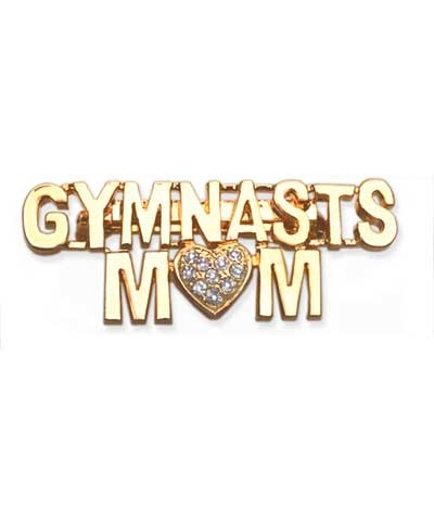 Gymnastics Mom Pin
