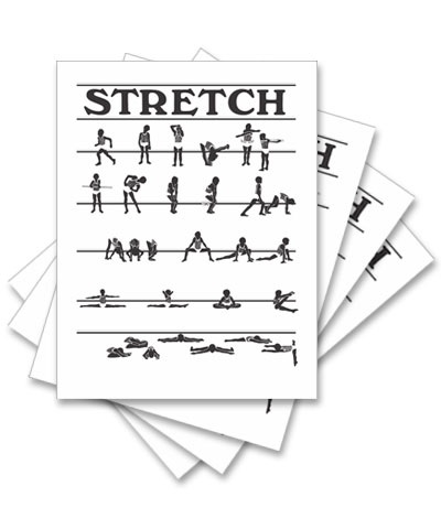 Stretch Posters (Set of 4) FREE SHIPPING