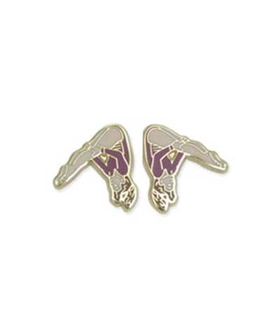 Handspring Piked Front Vault Pierced Earrings