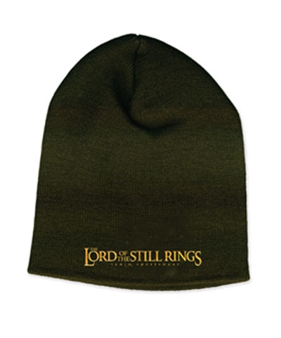 Lord Of The Still Rings Black Beanie