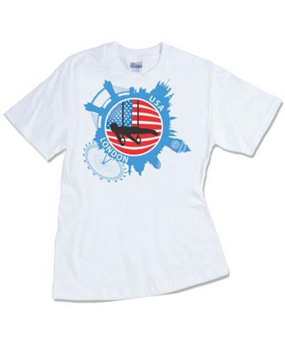 USA Men's London Tee FREE SHIPPING