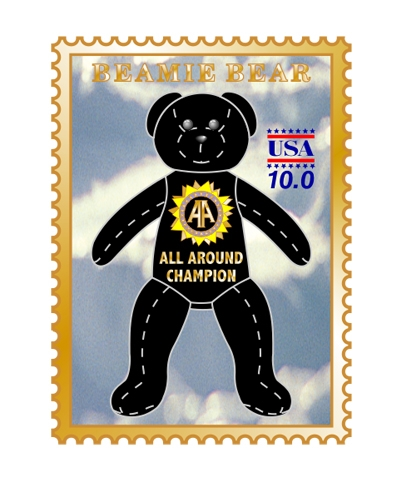 All-Around Beamie Bear Pin
