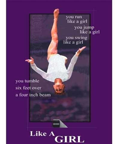 "Beam Edition ""Like A Girl"" Poster"