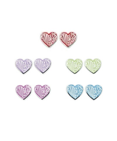 Love Heart Gymnastics Earrings