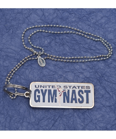 US Gymnast Necklace or Keyring
