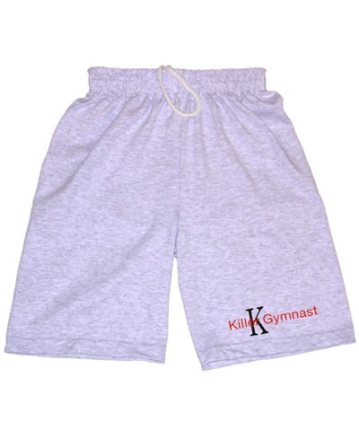 Boys Killer Gymnast Ash Workout Shorts FREE SHIPPING