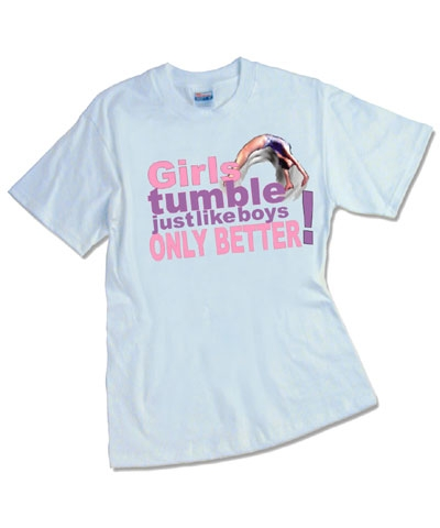 Girls Tumble Tee FREE SHIPPING
