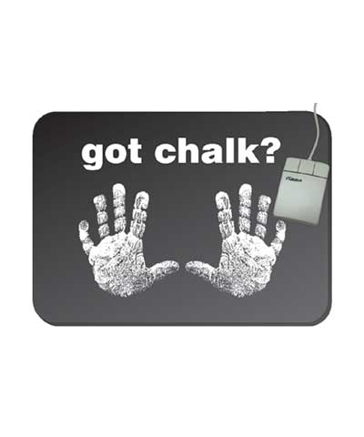 Got Chalk Mouse Pad