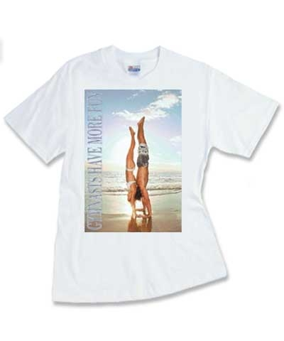 Gymnast Have More Fun Tee FREE SHIPPING