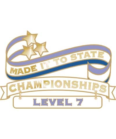 Level 7 Made It To State Pin