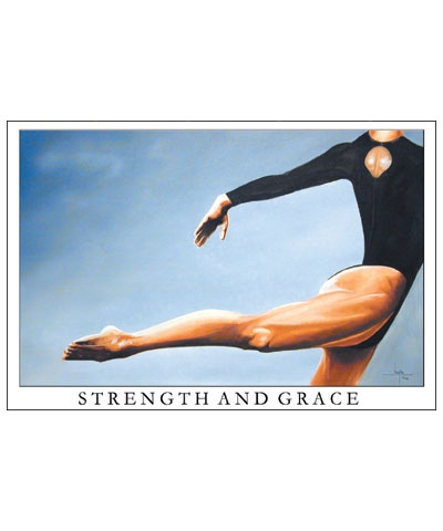 "20""x30"" Strength And Grace Poster FREE SHIPPING"