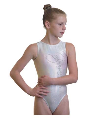 Silver Sparkle GYMNASTS Leo