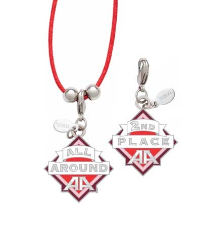 2nd Place All-Around Charm & Cord Necklace