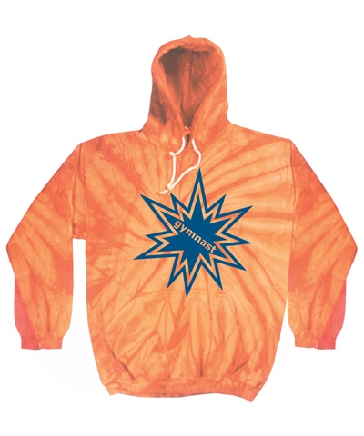 Orange Spider Gymnast Hoody