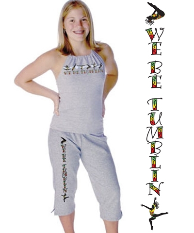 """We Be Tumblin"" Capri Pants FREE SHIPPING"
