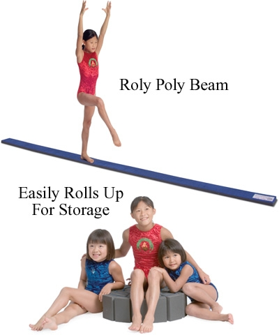 12' Roly Poly Flexi Balance Beam FREE SHIPPING