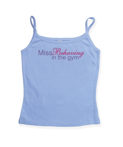 Miss Behaving Spaghetti Strap Top