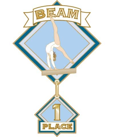 Beam 1st Place Pin
