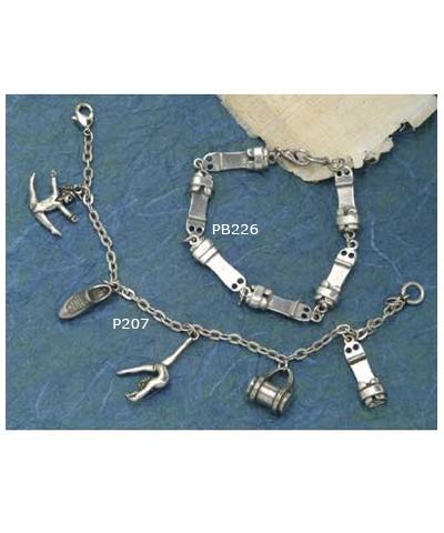 Pewter Grip Bracelet