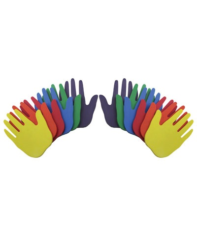 Poly Pad Hands Large (Set of 12) FREE SHIPPING