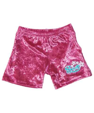 Star Fuchsia Workout Shorts FREE SHIPPING
