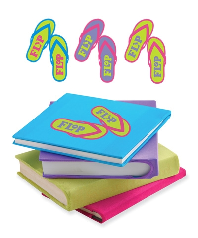 Flip Flop Book Covers