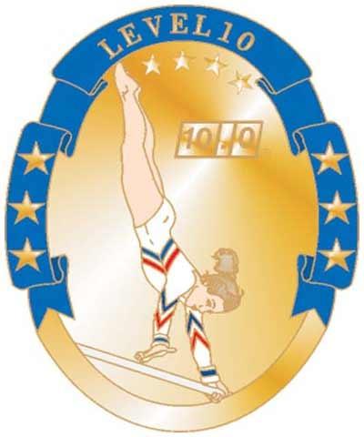 USAG Level 10 Pin