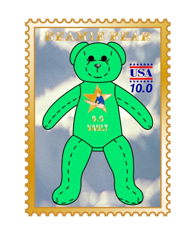 9.0 Vault Beamie Bear Pin FREE SHIPPING