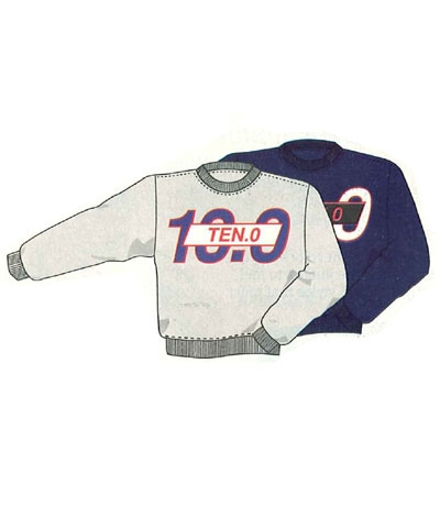 TEN-O Sweatshirt FREE SHIPPING