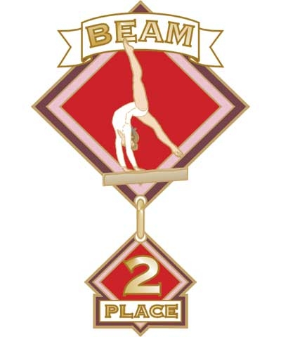 Beam 2nd Place Pin