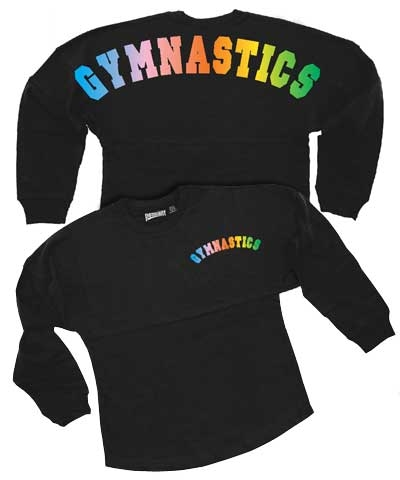 Adult Color Melt Gymnastics Billboard Shirt