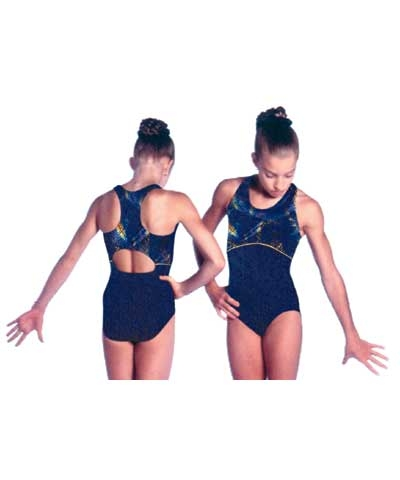 Blue Galaxy Leotard