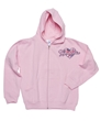 Embroidered Pink Heart Gymnastics Hoody